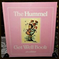 """1983 The Hummel """"Get Well Book"""" Ars Edition Mint Condition"""