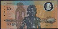 1988 Australia $10 AA12 banknote polymer commemorative folder consecutive pairs