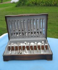 Vintage 80 Piece 1847 Rogers Bros FIRST LOVE Set w/8 Serving Pieces