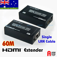 HDMI Cable Extension Extender over Single Cat.5e Cat.6 Network LAN Cable to 60m