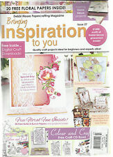 BRINGING INSPIRATION TO YOU, QUALITY CRAFT PROJECTS IDEAL FOR BEGINNERS & EXPER