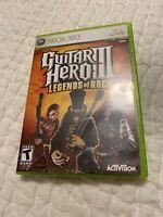 Guitar Hero 3 Legends of Rock (Xbox 360) 2007 CIB used condition