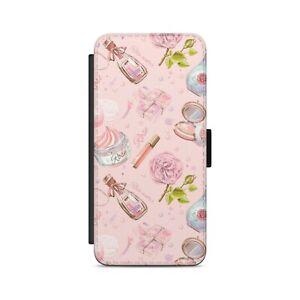 FASHION COSMETIC Art Pattern  Flip Wallet Phone Case