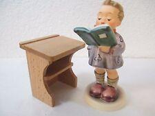 """Hummel Club """"Der Poet"""" / """"The Poet"""" #1223 Hum #397 with Desk"""