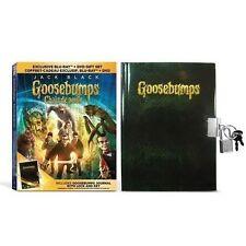 Goosebumps Movie w/ Exclusive Journal, Lock, & Key [Blu-ray + DVD, 2-Disc] NEW