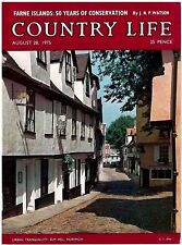 Country Life Magazine Farne Islands Elm Hill Norwich August 28 1975 Gifts