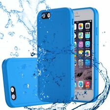Waterproof Shockproof DIRTPROOF Slim iPhone Case Cover for iPhone 7 Plus 6s 6 iPhone 5 | 5s | SE Blue