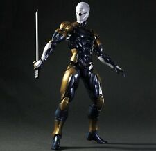 Play Arts Kai Metal Gear Solid Cyborg Ninja Gray Fox Action Figure New In Box
