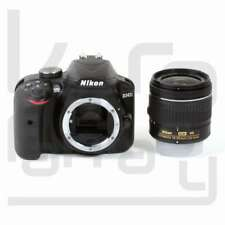 NEW Nikon D3400 Digital SLR Camera + AF-P 18-55mm f/3.5-5.6G VR Lens (Kit Box)