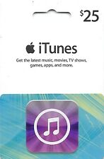 $25 US Apple iTunes Gift Card Certificate Voucher | American USA iTunes Code