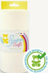 Fleece Super Soft Shorty 1,5 mm Wollweiss 100 X 75 weich kullaloo