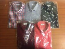 Mens Almanc Shirt Cotton Ex Chain Store Re branded M&S Formal Casual