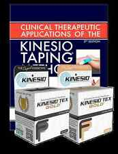 KINESIO Starter Pack. Application Manual & 2 Rolls of Kinesio FP Tape. FREE POST