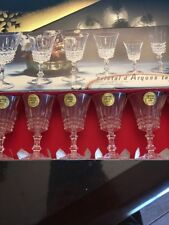 Cristal D 'Arques Tuileries Cordial Glasses (6) In Box