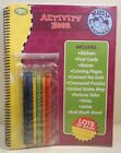 Book Activity Busy Backseat Travel Coloring Puzzles Stickers Case Handle Set