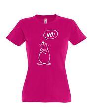 Damen T-Shirt Nö! Comicfigur Baumwolle Fair Wear