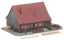 NEW N scale Faller Forest Service / Forester's Lodge Building KIT # 232358