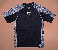 """Mens """"ECKO"""" Black T-shirt Fast Dry Sports Tops-SZ L"""