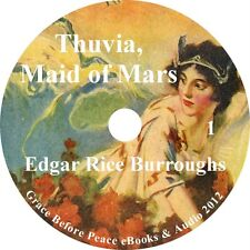 Thuvia, Maid of Mars Sci-Fi Action Audiobook by Edgar Rice Burroughs on 1 MP3 CD