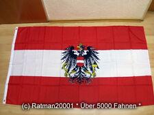 Fahnen Flagge Österreich mit Wappen Sonderposten  - 90 x 150 cm
