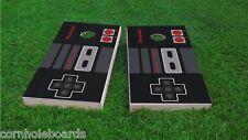 Original Nintendo Controller Themed 2x4 Custom Cornhole Board Set w/Bags