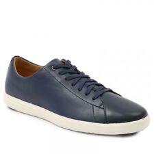 Cole Haan Men's Grand Crosscourt II Sneaker 11.5 W US Navy Leather Burnish
