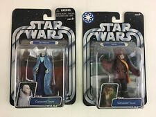 NIB Lot Star Wars Sly Moore Coruscant Senate Yarua Wookiee Action Figure Hasbro