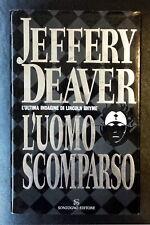 Jeffery Deaver, L'uomo scomparso, Ed. Sonzogno, 2003