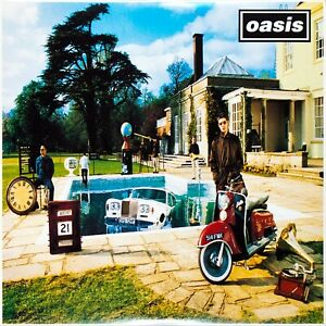 Oasis – Be Here Now - 2 LPs Reissue UK 2009 - Cover/Vinyls MINT! Offen (Opened)