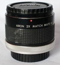 "Kiron ""match mate"" MC 2x teleconverter to fit Canon FD."
