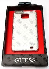 Samsung Galaxy S2 Guess Croco Beige Cell Phone Back Case Leather GUS2CRBE
