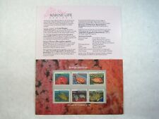 Australia Great Barrier Reef Marine Life Fish Coral Postage Mint Stamps Booklet