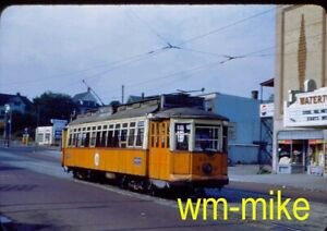 #284 - TROLLEY - Boston MTA car #5335 in 1951 Original slide