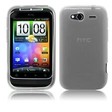 Skin Gel Silicona HTC Wildfire S Color Gris-36905