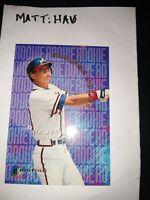1995 Emotion #8 of 10 Chipper Jones RC HOF baseball card