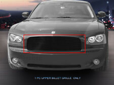 Black Billet Grille Front Upper Grill Insert For Dodge Charger 2005-2010