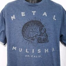 Metal Mulisha Mens T Shirt Southern California Skull Blue Extra Soft Size XL