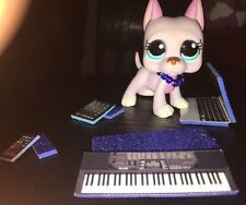 LPS *BLUE* Lot of Phone, Keyboard, Laptop, Collar & Tablet-Littlest Pet Shop