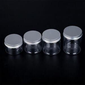 10PCS Clear Plastic Empty Cosmetic Jars Pots Makeup Sample Art Craft Storage
