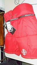 "Tackla 1000 Jr Euro 180 Height 71-75 Hockey Pants New 300 Red 28""-30"" waist"