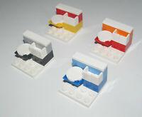 Lego ® Accessoire Minifig Petite Scène WC Toilettes + Lavabo Choose Color