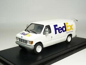 Eligor E200083 1/43 1998 Ford Econoline FedEx Van Resin Model Car Truck