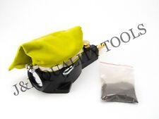 Pneumatic Air Spark Plug Cleaner Sand Blaster Tool Cleaning + Blasting Abrasive