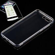 Silikoncase Transparent Tasche + 0,3 H9 Panzerglas für Huawei Honor 9 Hülle Neu