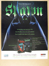 1997 Todd McFarlane Spawn HBO Video Release promo vintage print Ad