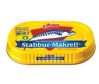 """Norwegian Stabburet """"Makrell i tomat"""" - Mackerel in tomato sauce. 170 grams tin"""