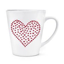Coeur De Coeurs 341ml Latte Tasse - St. Valentin Fête Des Mères Amour