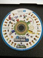 Nintendo Wii U game - NEW Super Mario Bros U + Super Luigi U Disc