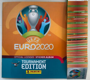 Panini Euro 2020 2021 Tournament stickers #1 - 230