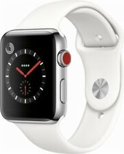 Apple Watch Series 3 42mm Stainless Steel  (GPS + Cellular) w/Apple Care